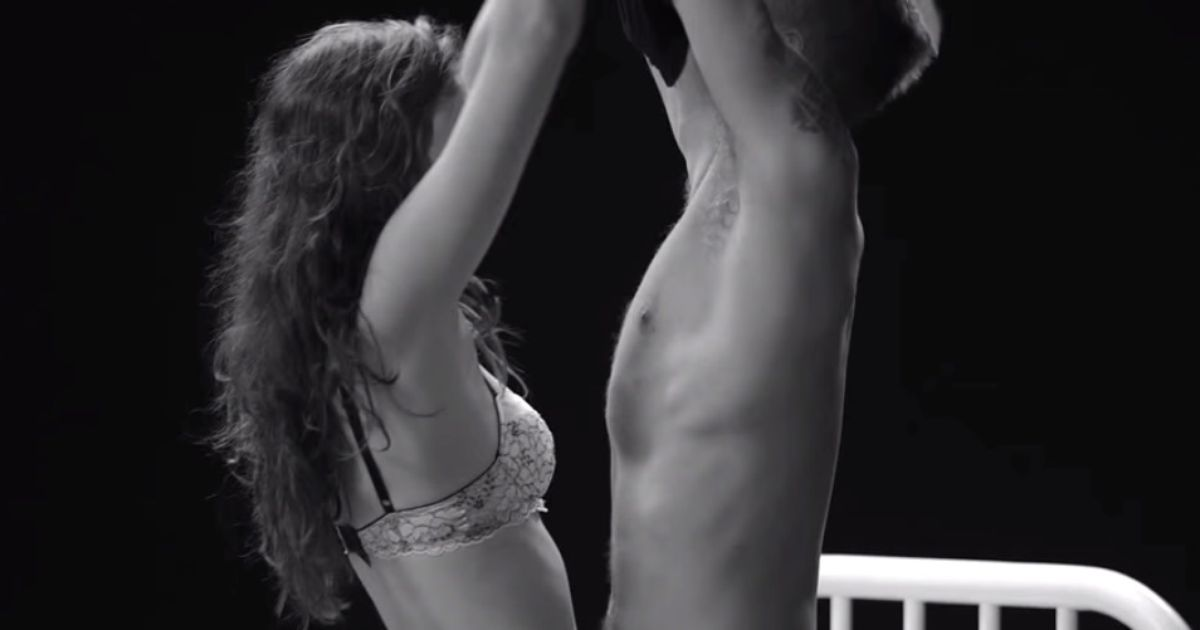 Ask A Pair Of Strangers To Undress Each Other, Then Watch What Happens