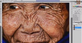 Watch Photoshop Make This 100-Year-Old Woman Young Again