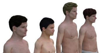 What The Average Man's Body Looks Like Around The World