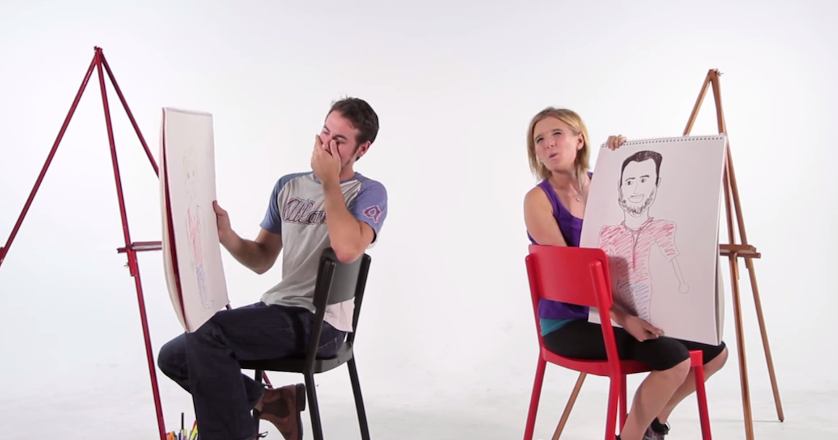 These Couples Drew Each Other By Memory And The Results Were Hilarious